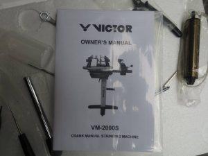 Máy căng vợt Victor VS 2000 mới về