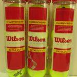 Bóng Tennis Wilson Championship Extra Duty – Hộp 4 quả