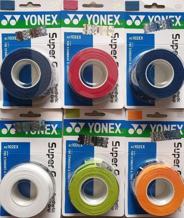 Quấn Cán Yonex AC102EX Chính Hãng (Vỷ 3 chiếc)