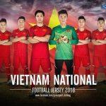 Áo Bóng Đá Đội Tuyển Việt Nam Năm 2018 – Sân Nhà