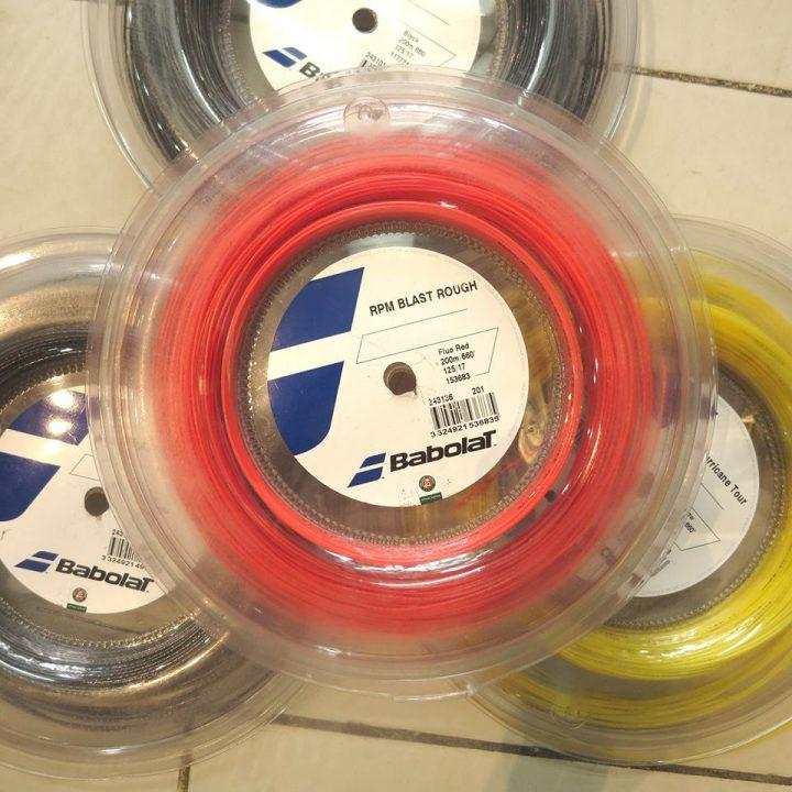 Dây Cước Tennis Babolat RPM Blast Rough – Màu Đỏ (1 sợi)