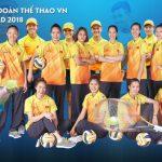 Áo Thể Thao Đội Tuyển Quốc Gia Asiad 2018 – Mitre AM453