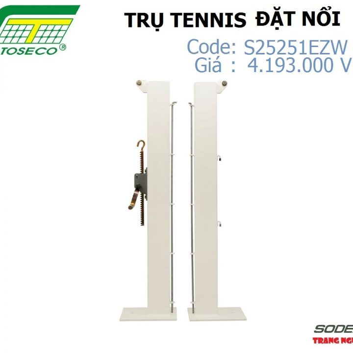 Trụ Tennis Sodex Toseco Đặt Nổi S25251EZW