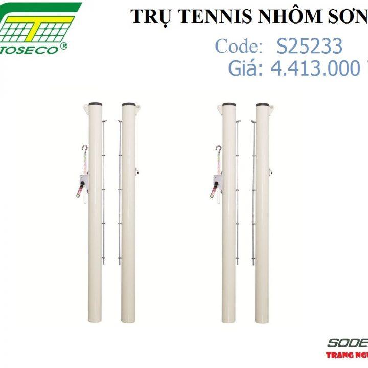 Trụ Tennis Sodex Toseco Nhôm Sơn – S25233