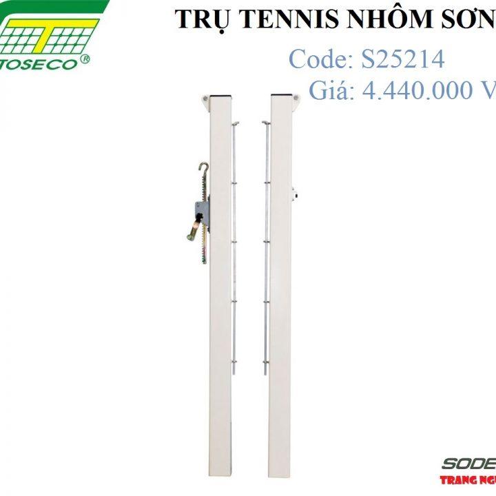 Trụ Tennis Sodex Toseco Nhôm Sơn – S25214