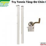 Trụ Tennis Sodex Toseco Tăng-Đơ Trong Chôn Nòng – S25235