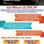 Vợt Tennis Wilson Ultra XP 100LS (266 gr) (Hết hàng)