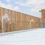Trụ Bóng Rổ Trường Học Sodex S14621 – Đối Trọng 38kg