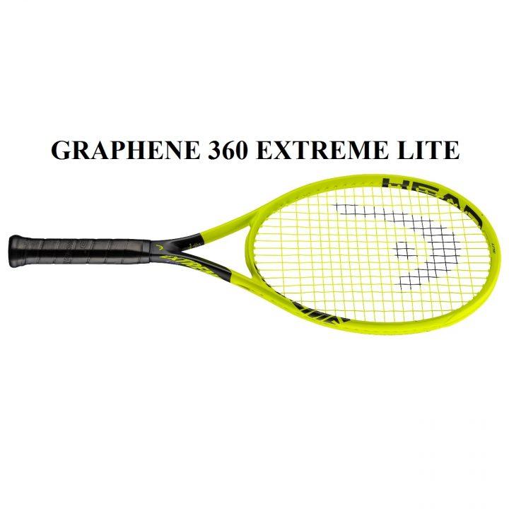 Vợt Tennis Head Graphene 360 Extreme Lite 2019 (265gr)