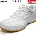 Giày Cầu Lông Kawasaki K077 Full White – Năm 2019