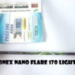Vợt Cầu Lông Yonex NanoFlare 170 Light –  Nhẹ nhàng linh hoạt