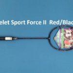 Vợt Cầu Lông Felet Sport Force II – Màu Đen Đỏ