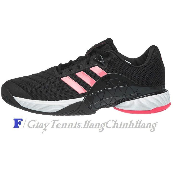 Giày Tennis Adidas Barricade 2018 Black / Flash Red