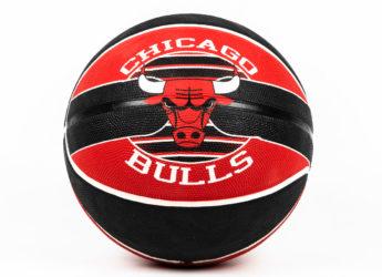 Quả Bóng Rổ Spalding NBA Team Chicago Bulls – Size 7