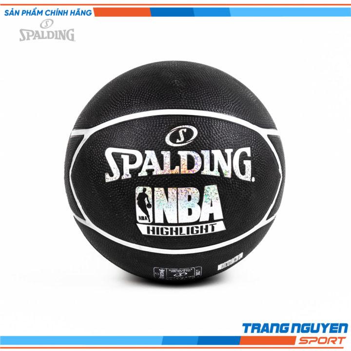 Quả Bóng rổ Spalding NBA HIGHLIGHT HOLOGRAM SILVER