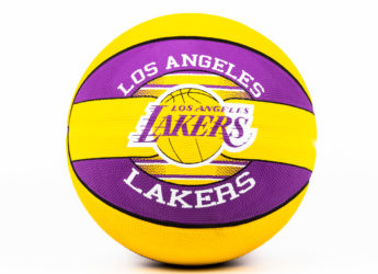 Quả Bóng Rổ Spalding NBA Team Los Angeles Lakers – Size 7 (2019)