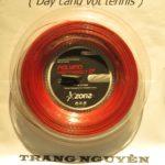 Dây Cước Tennis Zons Polymo Heptanbolt 17 – Màu Đỏ (Sợi Xoắn)