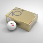 Quả Bóng Bàn Sanwei ABS Pro 40+ (Ba sao trắng x 6) MỚI