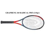 Vợt Tennis Head Graphene 360 Radical Pro (310gr)