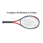 Vợt Tennis Trẻ Em Head Graphene 360 Radical Jr (245gr) 9 – 11 tuổi