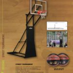 Trụ Bóng Rổ Spalding Street Tournament (thi đấu ngoài trời chuyên nghiệp)