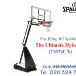 Trụ Bóng Rổ Di Động Spalding ULTIMATE HYBRID (cho thanh thiếu niên)