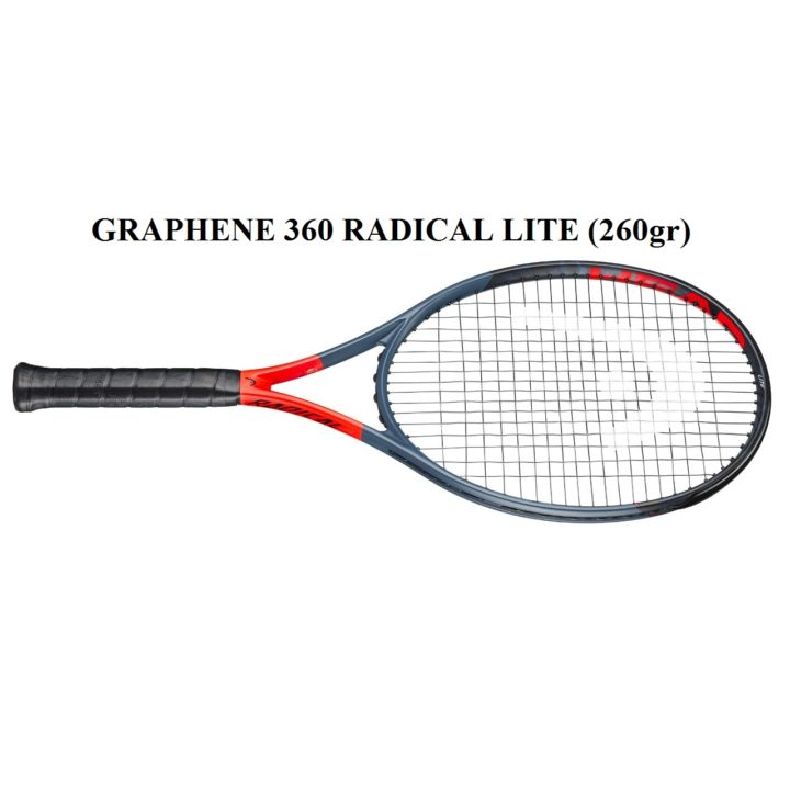 Vợt Tennis Head Graphene 360 Radical Lite (260gr)