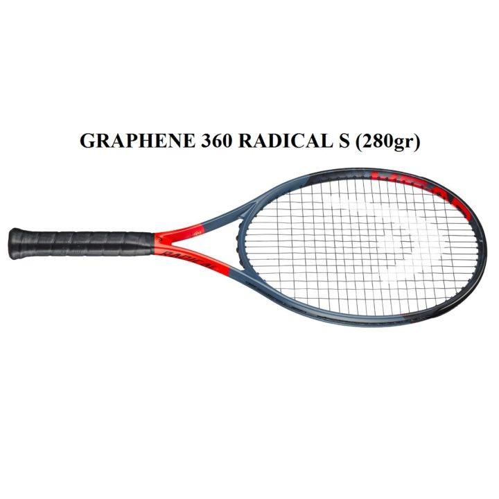 Vợt Tennis Head Graphene 360 Radical S (280gr)