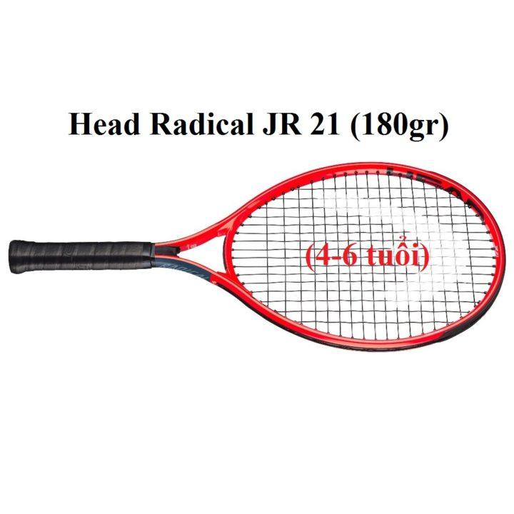 Vợt Tennis Trẻ Em Head Radical JR 21 (4-6 tuổi)