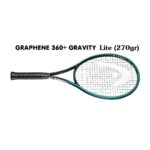 Vợt Tennis Head Graphene 360+ Gravity Lite (270 gram)