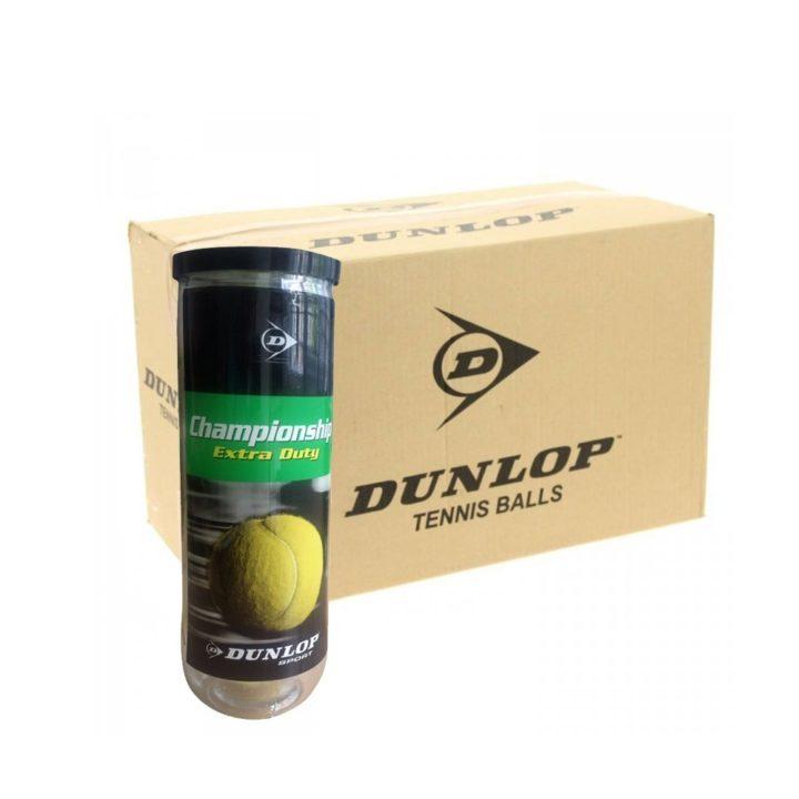 Thùng Bóng Tennis Dunlop Championship Năm 2019 – Hộp 3 quả
