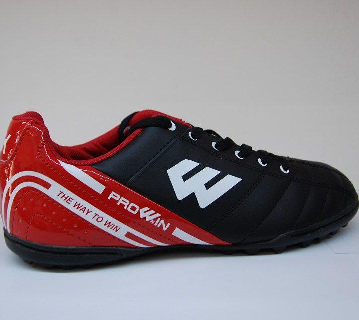 Giày Đá Bóng Prowin RX Sân Cỏ Nhân Tạo – Màu Đen