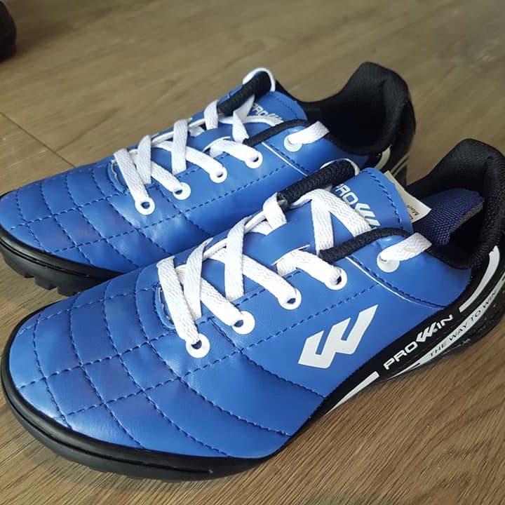 Giày Đá Bóng Trẻ Em Prowin RX – Màu Xanh