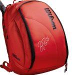 Balo Tennis Wilson Federer DNA Backpack Infrared WRZ830896 – Màu Đỏ