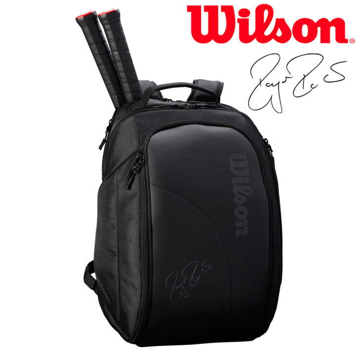 Balo Tennis Wilson Federer DNS Backpack WRZ832896 – Màu Đen
