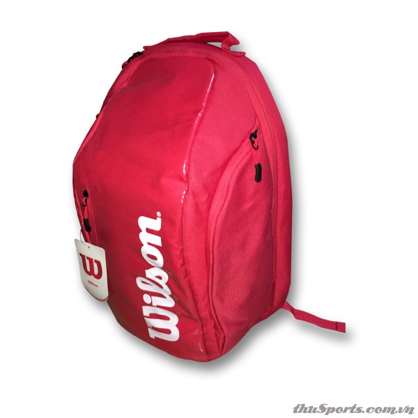 Balo Tennis Wilson Super Tour Backpack WRZ840896001 – Màu Đỏ