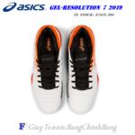 Giày Tennis Asics Gel Resolution 7 2019 White/Koi/Black (E701Y-100)