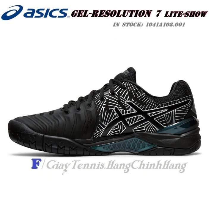 Giày Tennis Asics GEL-RESOLUTION™ 7 L.E. Black/Silver (1041A108.001)