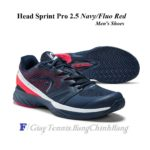 Giày Tennis Head Sprint Pro 2.5 Men 273109 (Navy/Fluo Red)