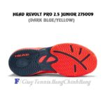 Giày Tennis Trẻ Em – Head Revolt Pro 2.5 Junior 275019 (Fluo Red/Navy)