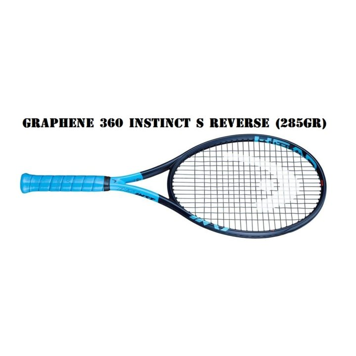 Vợt Tennis Head Graphene 360 Instinct S Reverse (285gr) – Phiên bản Đặc Biệt 2019 – 2020