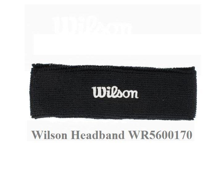 Băng Chặn Mồ Hôi Trán Wilson WR5600190 – Màu Đen