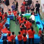Cho Thuê Bộ Bàn Hơi SNOOKBALL 16 Bóng (Chơi Bi-Da Bằng Chân)