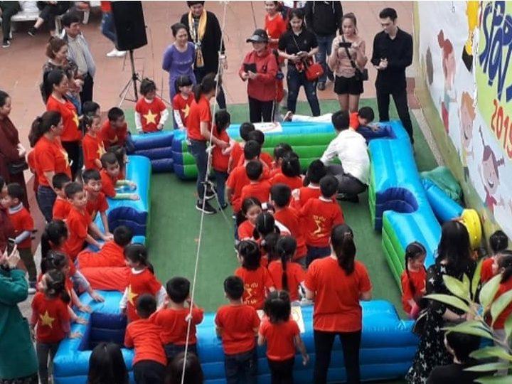 Cho Thuê Bộ Bàn Hơi SNOOKBALL 10 Bóng (Chơi Bi-Da Bằng Chân)