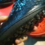 Giày Đá Bóng Wika Hunter – Màu Đen Xanh