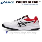 Giày Tennis Asics COURT SLIDE™ White / Black (1041A037-102)