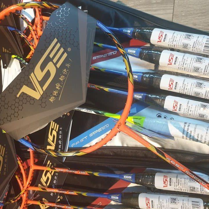 Vợt Cầu Lông Venson Fast Speed 1370 (Màu Cam)