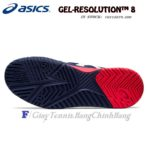 Giày Tennis Asics Gel Resolution 8 Peacoat/White Năm 2020 (1041A079.400)