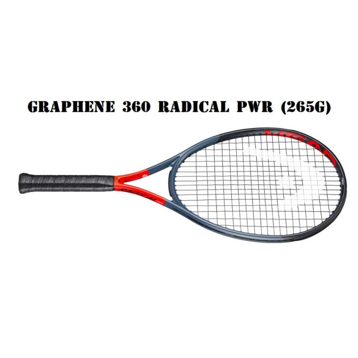 Vợt Tennis Head Graphene 360 Radical PWR (265g)