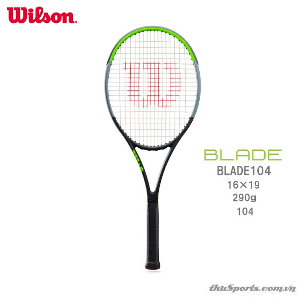 Vợt Tennis Wilson Blade 104 Serena Williams V7.0 Năm 2020 (290gr)
